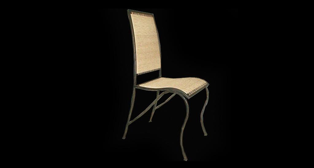 Chaise raphia