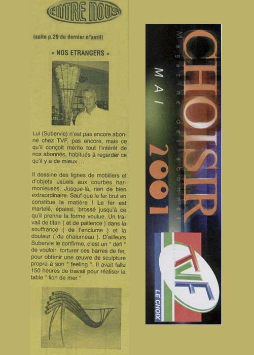 Choisir Mai 2001