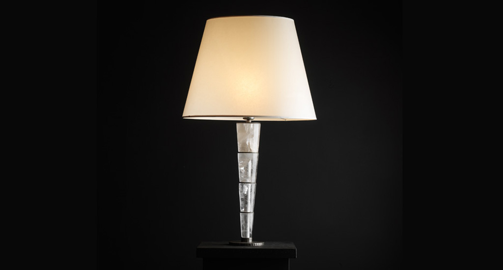 Lampe conique