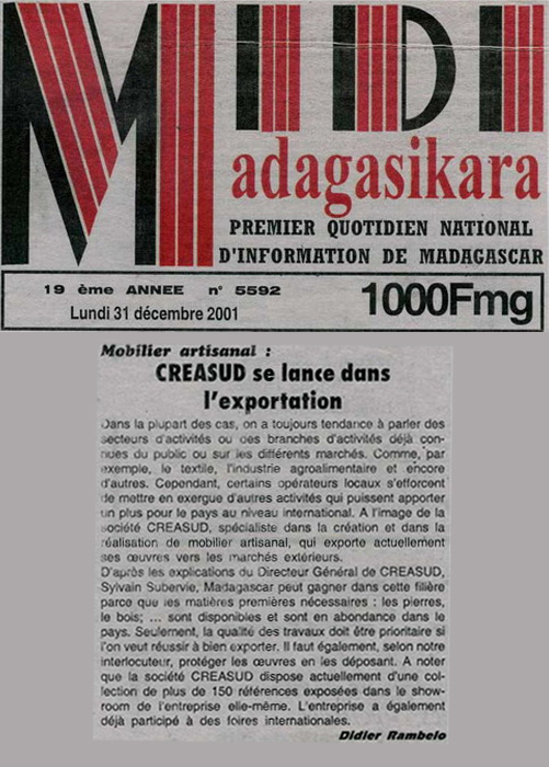 Midi Décembre 2001