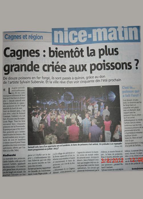 NICE MATIN POISSONS - 03/08/2012