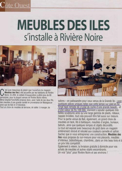 Côte Ouest Dec 2002