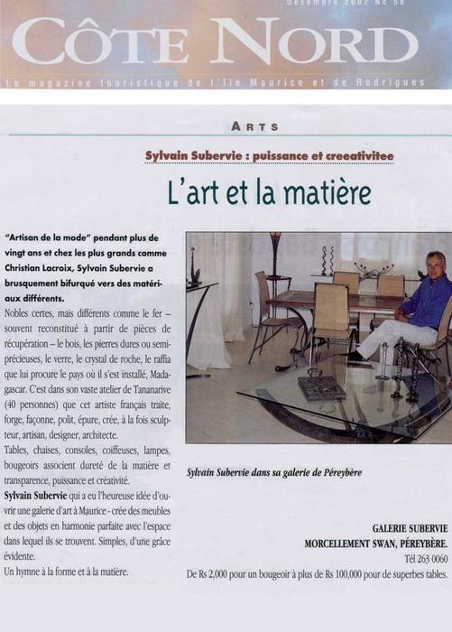 Côte Nord Dec 2002