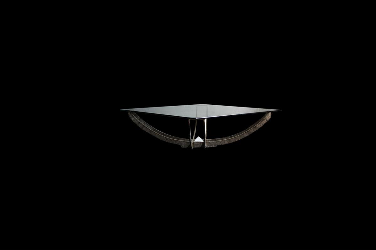 TABLE BASSE FLEUR
