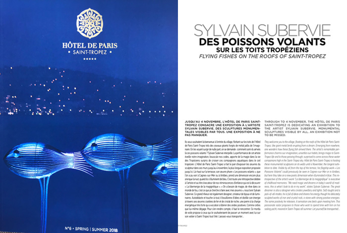 Magazine Hôtel de Paris 2018