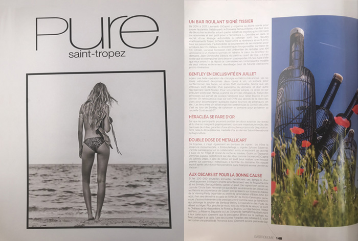Article dans Pure Magazine